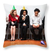 Nonconformity Throw Pillow by Diane Diederich