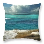 Nonsuch Bay Antigua Throw Pillow by John Edwards