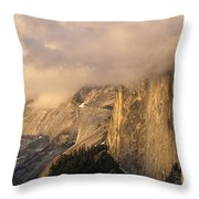 North Valley Panoramic Throw Pillow by Bill Gallagher