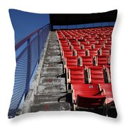 Nosebleeds Throw Pillow by Frank Romeo