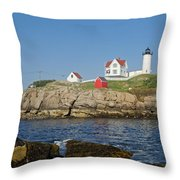 Nubble In The Day 16x20 Throw Pillow by Geoffrey Bolte