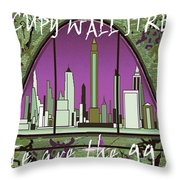 Occupy Wall Street - We are the 99 percent Poster Throw Pillow by Art America - Art Prints - Posters - Fine Art