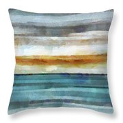 Ocean 1 Throw Pillow by Angelina Vick
