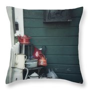 odds and ends Throw Pillow by Joana Kruse