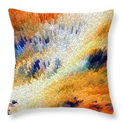 Odyssey - Abstract Art by Sharon Cummings Throw Pillow by Sharon Cummings