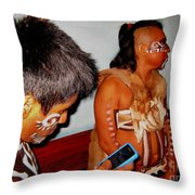 Oh The Irony Throw Pillow by Halifax photography by John Malone