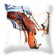 Olathes Throw Pillow by Karen Slagle