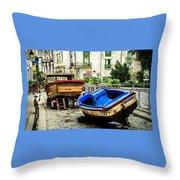 Old Havana Throw Pillow by Karen Wiles