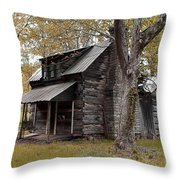 Old Home Place Throw Pillow by TnBackroadsPhotos