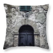 Old Italian House Throw Pillow by Joana Kruse