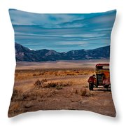 Old Pickup Throw Pillow by Robert Bales