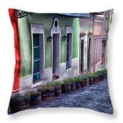 Old San Juan Puerto Rico Throw Pillow by Thomas R Fletcher