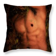 Old Story 1 Throw Pillow by Mark Ashkenazi