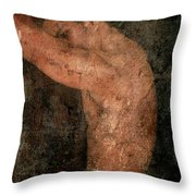 Old Story Throw Pillow by Mark Ashkenazi