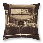 Old Times Throw Pillow by Alana Ranney