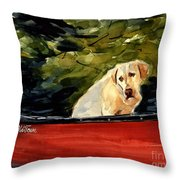 Old Town Throw Pillow by Molly Poole