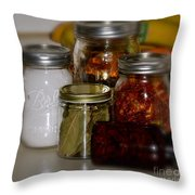 Old Ways New Throw Pillow by Rae Ann  M Garrett