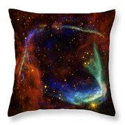 Oldest Recorded Supernova Throw Pillow by Adam Romanowicz