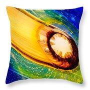 Omaste's Comet Throw Pillow by Omaste Witkowski