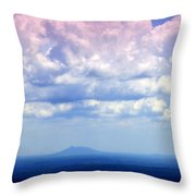 On A Clear Day Throw Pillow by Karen Wiles