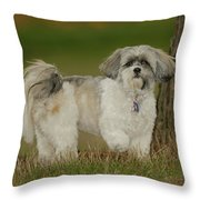 On Point Throw Pillow by Arthur Fix