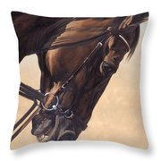 On The Diagonal Throw Pillow by JQ Licensing