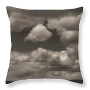 On The Road Again Throw Pillow by Dan Sproul