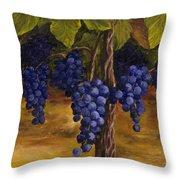 On The Vine Throw Pillow by Darice Machel McGuire