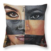 One And The Same Throw Pillow by Malinda  Prudhomme