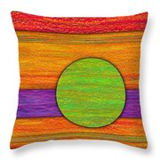 One Appeared Throw Pillow by David K Small