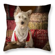 One Thousand And One Nights Throw Pillow by Edward Fielding