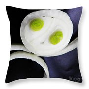 Onion Baby 2 Throw Pillow by Sarah Loft