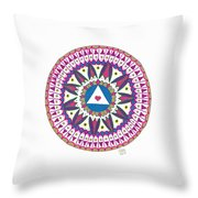 Only you can make yourself perfect Throw Pillow by Signe  Beatrice