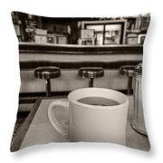 Open All Night Throw Pillow by Edward Fielding