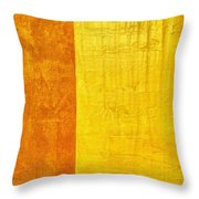 Orange Pineapple Throw Pillow by Michelle Calkins