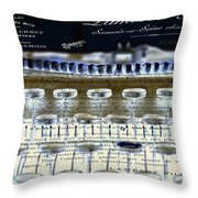 Ordering Cheese 2 Throw Pillow by Angelina Vick