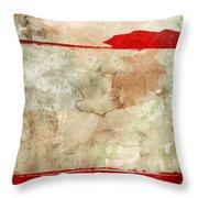 Orient Throw Pillow by Brett Pfister