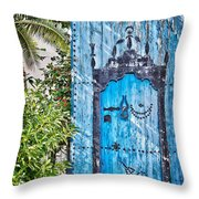 Oriental Garden Throw Pillow by Delphimages Photo Creations