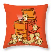Original copycat Throw Pillow by Budi Kwan