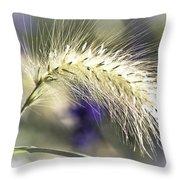 Ornamental Sweet Grass Throw Pillow by Heiko Koehrer-Wagner