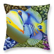 Pablo Throw Pillow by Carolyn Steele