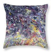 Paint Number 55 Throw Pillow by James W Johnson