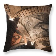 Painted Vaults Throw Pillow by Lynn Palmer