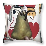 Pair Of Jacks Throw Pillow by Anthony Falbo
