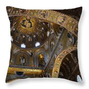 Palatine Chapel Throw Pillow by RicardMN Photography