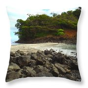 Panama Island Throw Pillow by Carey Chen