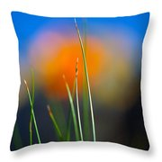 Papyrus Throw Pillow by Joe Schofield