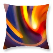 Paradise Creation Throw Pillow by Amy Vangsgard