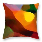 Paradise Found 2 Throw Pillow by Amy Vangsgard