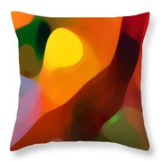 Paradise Found 2 Tall Throw Pillow by Amy Vangsgard